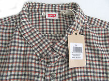 Levis Vintage 1960s Button Down Shirt Houndstooth Check  XLarge NWT/$210
