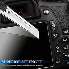 2X Tempered Glass Screen Protector Film For Canon EOS 5D Mark III MK IV 5DS 5DSR