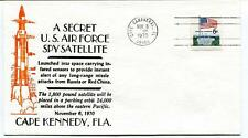 1970 Secret U.S. Air Force Spy Satellite Russia Red China Cape Kennedy Fla USA