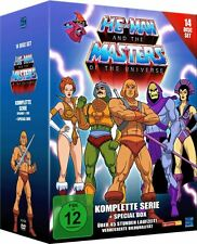 He-Man and the Masters of the Universe Komplette Serie + Special Box 14 DVD NEU