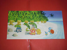 POKEMON-  cartolina/post card  con i personaggi dei pokemon n°2