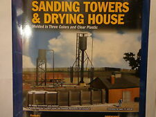 Walthers HO #933-3182 Sand Towers & Drying House (kit form) Plastic