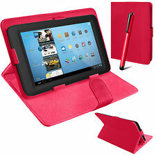 """Universal Mag Flip Case Cover Stand Fits 7"""" inch KURIO 7/7S (7.0 Android Tablet)"""