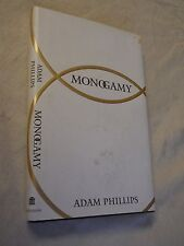 Monogamy by Adam Phillips (1997, Hardcover)