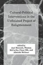 Studies in Contemporary German Social Thought Ser.: Cultural-Political...