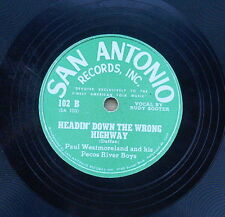 Paul Westmoreland - Wrong Side of the Track & Headin' Down the Wrong Highway