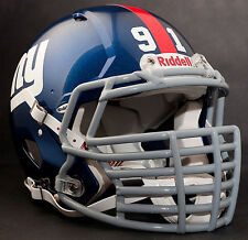 JUSTIN TUCK Edition NEW YORK GIANTS Riddell REVOLUTION SPEED Football Helmet