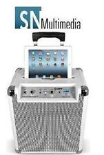 Ion blocco rocker all in Bluetooth Sistema Audio iPhone iPad Radio Bianco ipa66