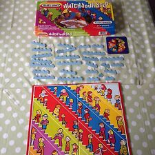 Vintage Retro Watch Your Step Childrens Board Game by SPEARS 1984 CHILDS GAME