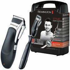 Remington Men's Cord/Cordless Stylist Hair 25 Piece Clipper Shaver Kit Set HC366
