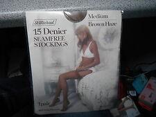 Marks & Spencer 15 Denier Medium Brown Haze Seamfree Stockings