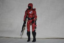 "2008 Hasbro GI Joe 3 3/4"" 1/18 Crimson Guard v9 Cobra Elite Trooper w/Acc SJ-301"