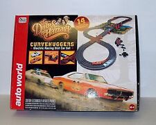 AW  The Dukes Of Hazzard 1/64 slot car set srs259