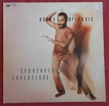 BOBBY MCFERRIN LP ORIG FR SPONTANEOUS INVENTIONS BLUE NOTE