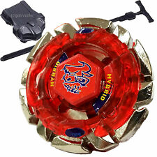 Dark Bull Metal Fusion Beyblade BB-40 STARTER SET w/ Launcher & Ripcord!