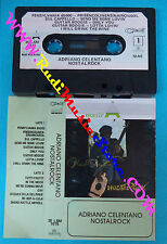 MC ADRIANO CELENTANO Nostalrock 1973 italy CLAN 35 LSM 1015 no cd lp dvd vhs