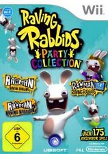 Nintendo Wii Rayman Raving Rabbids Party Collection Top Zustand