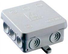 10 x Weatherproof, Waterproof Joint, Outdoor Junction Box, Adaptable Box IP54