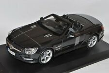 1:18 Maisto Black 2012 Mercedes-Benz SL 500 SL500 Convertible Item # 31196