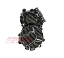 2009-2015 BMW S1000RR S1000R Left Side Clutch Engine Cover Twill Carbon Fiber