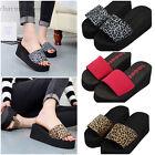 Summer Womens Slipper High Heel Wedge Platform Thong Flat Flip Flop Lady Sandals
