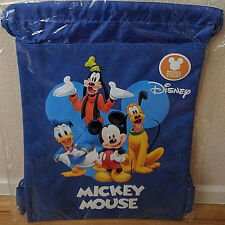 Disney Mickey Mouse Goofy Pluto Donald String Bag Backpack Gift Bag