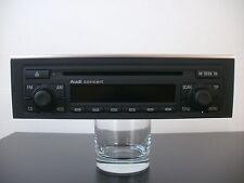 Audi CD Radio Concert II mit Chromleiste für Audi A4 Cabrio 8H   *** NEUZUSTAND