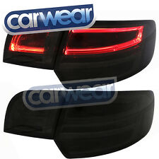 AUDI A3 8P S3 RS3 04-08 09-12 SMOKE LED LIGHT BAR OEM STYLE TAIL LIGHTS