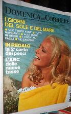 LA DOMENICA DEL CORRIERE 8 luglio 1969 Virna Lisi ACLI Sbarco a Salerno Livorini