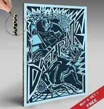 Daft Punk Tribal cardboarded Poster A4 Foto Print Room Pared Arte Decoración Regalo Idea