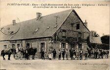 CPA FORET-la-FOLIE - Café-Restaurant du bon coin (285894)