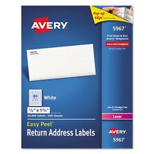 Avery Return Address Labels for Laser Printers - 5967