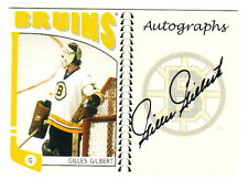 2004-05 In The Game ITG Franchises Autographs #A-GG GILLES GILBERT Boston Bruins