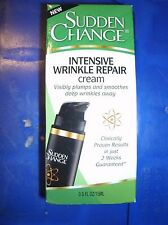 SUDDEN CHANGE INTENSIVE WRINKLE REPAIR CREAM .5 OZ. New sealed, FREE SHIPPING