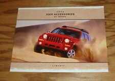 Original 2004 Jeep Liberty Accessories By Mopar Sales Brochure 04