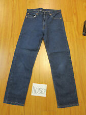 Vintage levi's 505 blue regular fit  Irregular made in USA flawed 34x30 11056R