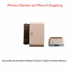 iPhone 5 / Iphone 6 Adapter 8-pol auf iPhone 4 / 4S Stecker 30-pol  iPad 3 iPod