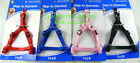 "Pet Inc Step In Dog Harness (SMALL) 3/8"" W X 11.5""- 18"" Black, Red, Pink or Blue"