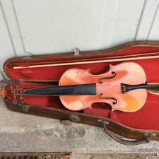 VIOLON ANCIEN ENFANT VIOLIN FRANCOIS BRETON MIRECOURT 旧的小提琴法国