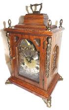vintage Tischuhr Mondphasenuhr Mondphase Kaminuhr Stutzuhr Stockuhr Warmink WUBA
