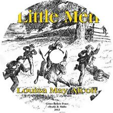 Little Men, True Classic Audiobook by Louisa May Alcott on 1 MP3 CD Free Ship