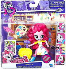 My Little Pony EQUESTRIA Girls Minis PINKIE PIE Splashy Art Class Set Mini 5""