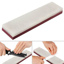 Dual Sides Grit Knife Razor Sharpener Stone Whetstone Polishing Sharpening Block
