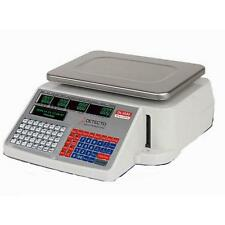 Detecto DL1030 NTEP Digital Price Computing Printing Scale 30 lb x 0.01 lb