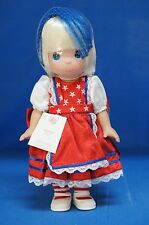 Alice in Wonderland 2014 Freedom Doll Precious Moments Disney 5826 UnSigned