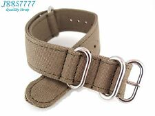 20mm Canvas Watch Strap Band Sports Military Army New Pattern Professional ZULU