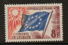 FRANCE SGC2 1958 COUNCIL OF EUROPE 8f MNH