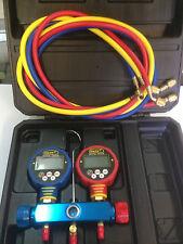 Multi Function Digital Manifold Gauge   Refrigerant  R410a R22 R134a, R404