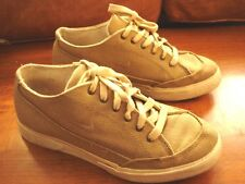 Vintage NIKE Tan Canvas Sneakers Size 7 1/2