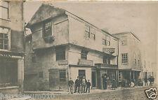 Postcard real photograph Gilbert Hogg Kendal pump inn finkle street c1900 A3